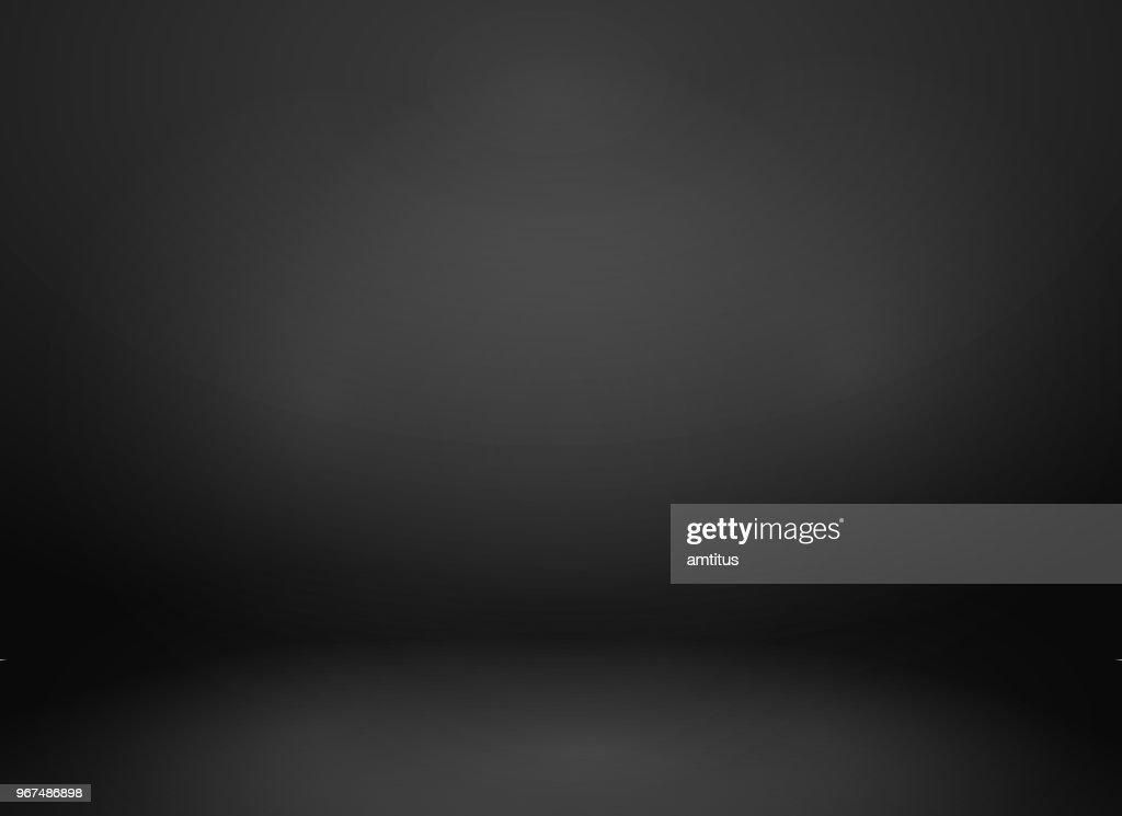 maquete Studio preto : Ilustração