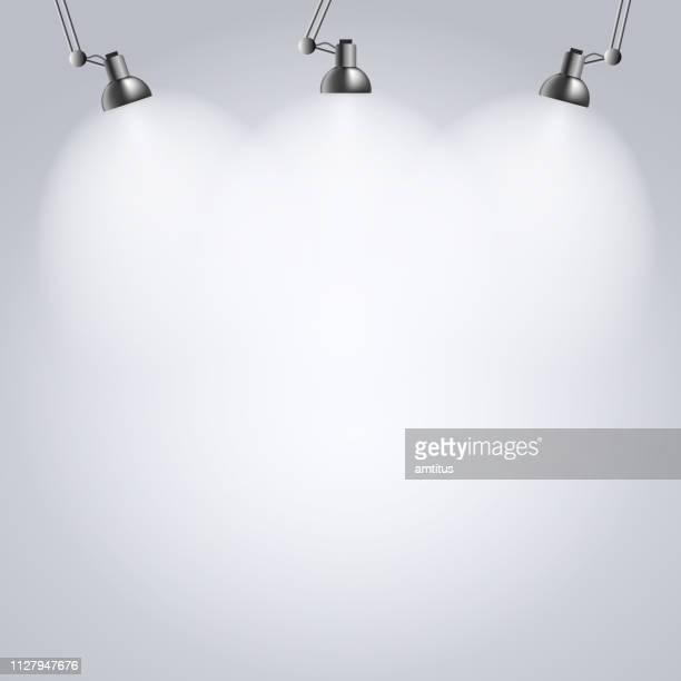 studio lighting mockup