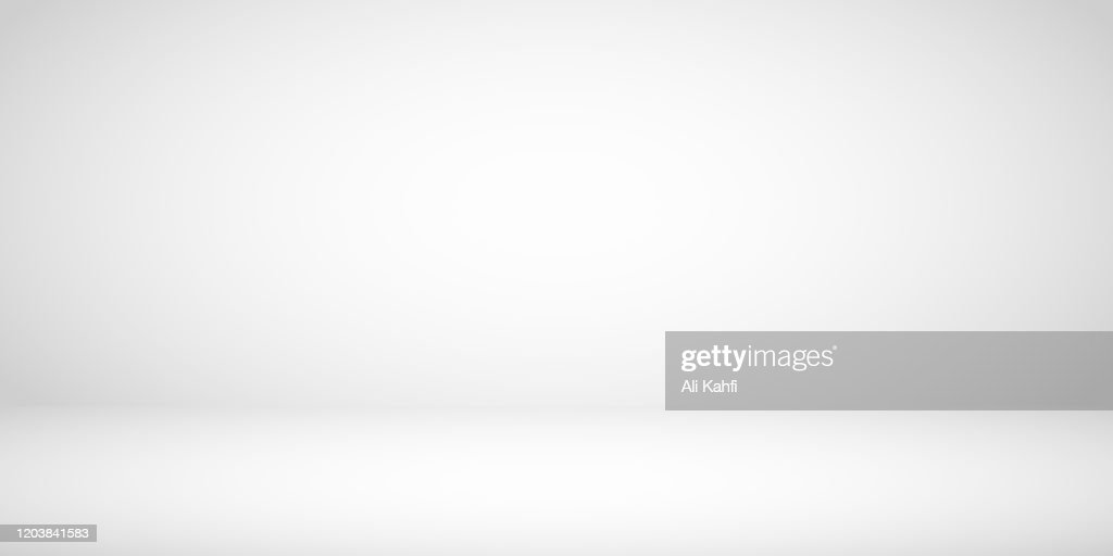 Studio Room Gray Background : Illustrazione stock