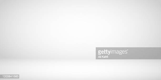 studio room gray background - copy space stock illustrations
