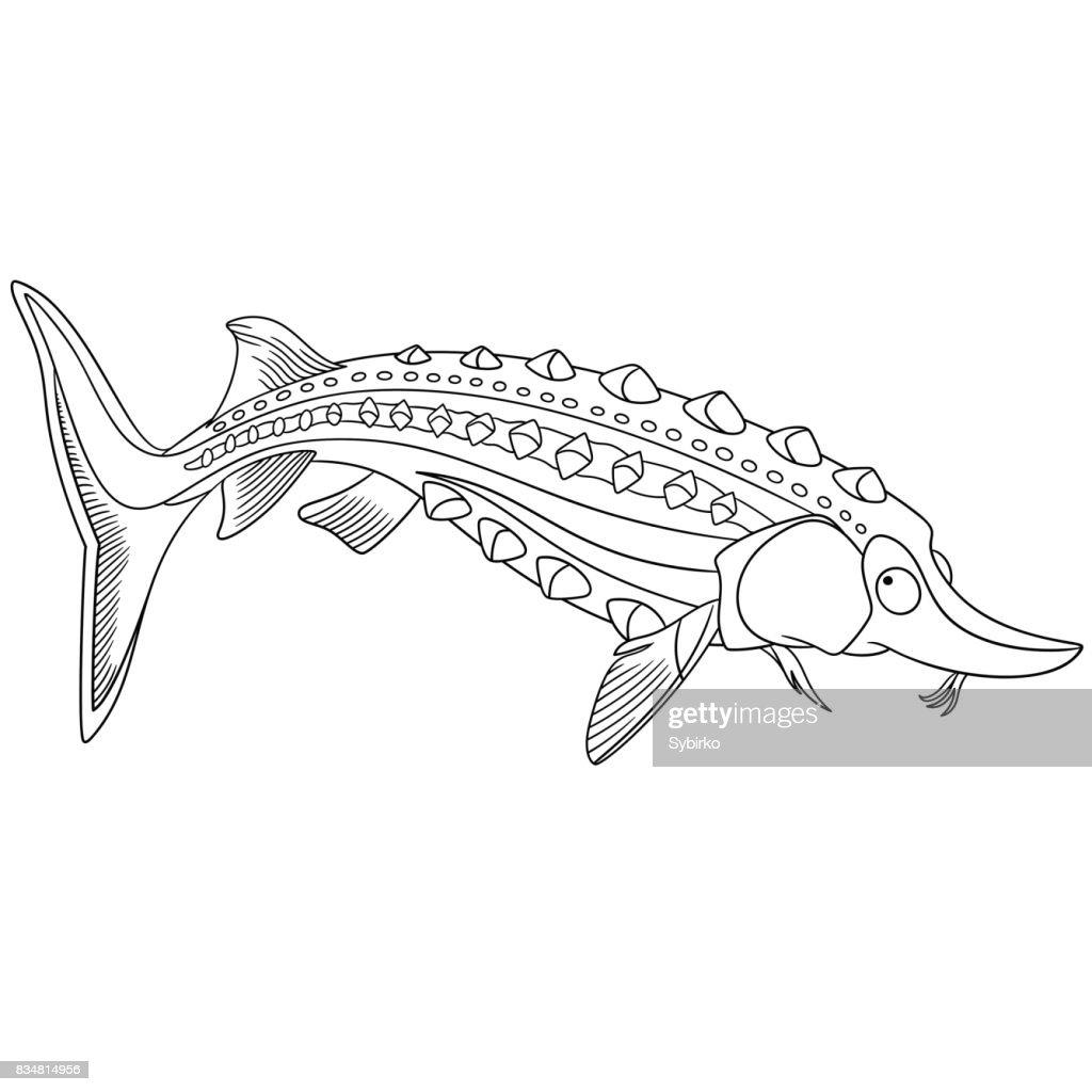 Fantastisch Sterne Fisch Färbung Seite Fotos - Dokumentationsvorlage ...