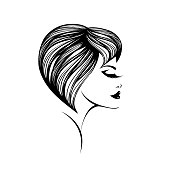Style, beauty and hair salon vector illustration