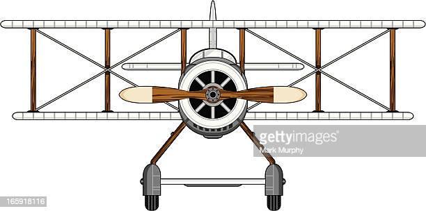 Style militaire Biplan Première guerre mondiale