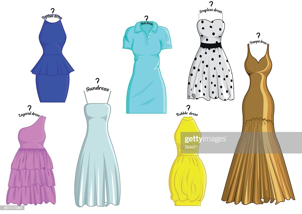 Styles of dresses
