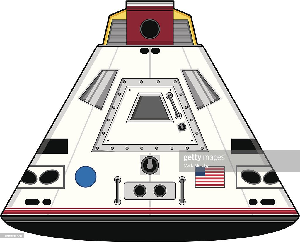 Stylised Space Capsule