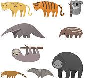 Stylish Jungle animals