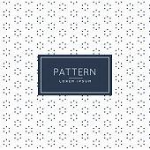 stylish minimal flower pattern background