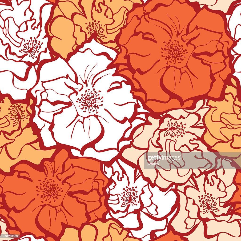 Stylish Rose Flowers ornament