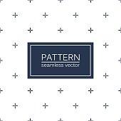 Stylish seamless minimalistic pattern.