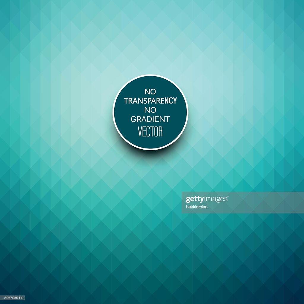 Stylish turquoise blue geometric background