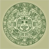 Calendario Maya Vector.Free Aztec Clipart And Vector Graphics Clipart Me