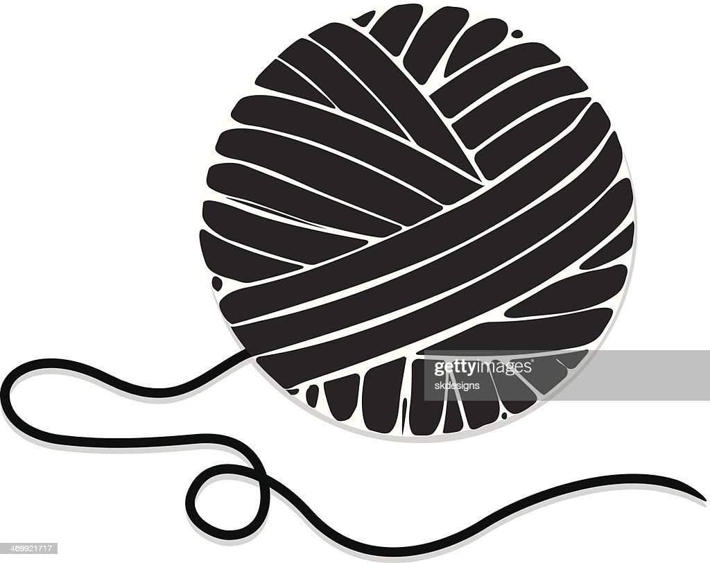 Stylized Ball Of Yarn Icon High-Res Vector Graphic - Getty ...