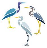 Stylized Birds