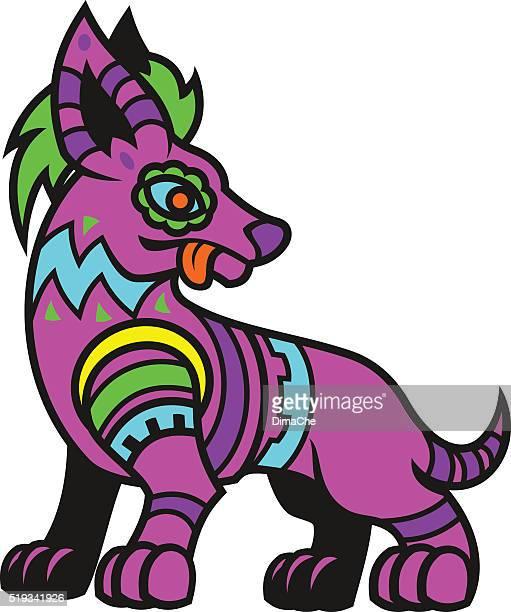 Stylized dog