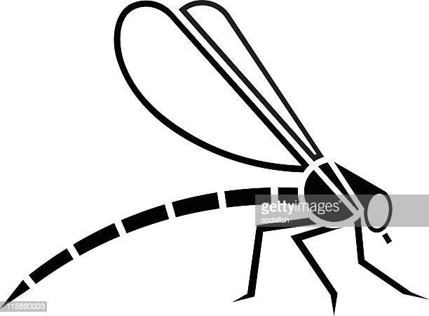 Stilisierte Libelle