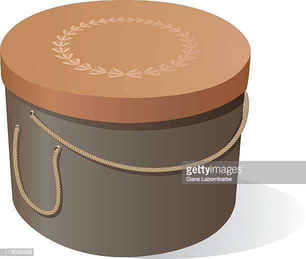 illustrations et dessins anim s de bo te chapeau getty images. Black Bedroom Furniture Sets. Home Design Ideas