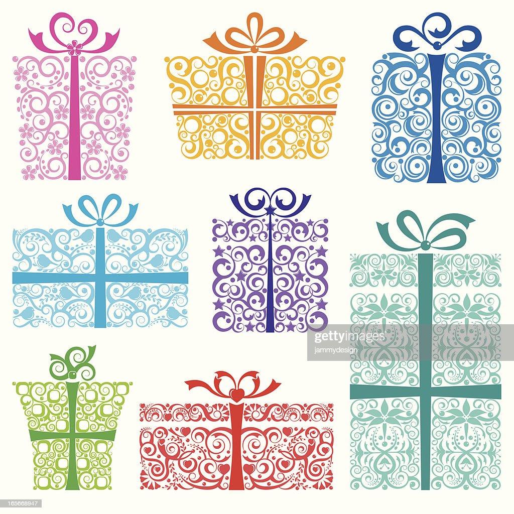 Stylized Holiday Gifts