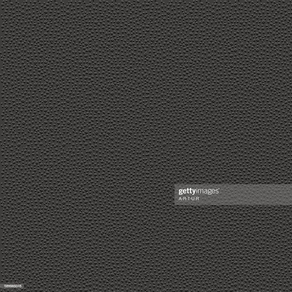Stylized leather - black granular textured background