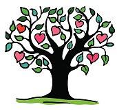 Stylized vector tree