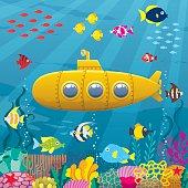 Submarine Background