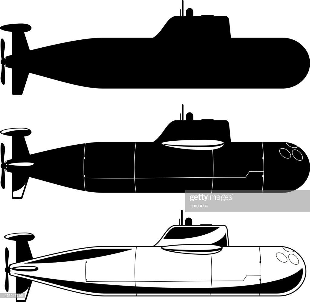Submarine War Icons