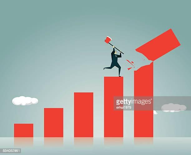 subprime loan crisis - subprime loan crisis stock illustrations
