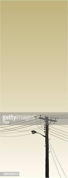 suburban morning - australia day stock illustrations