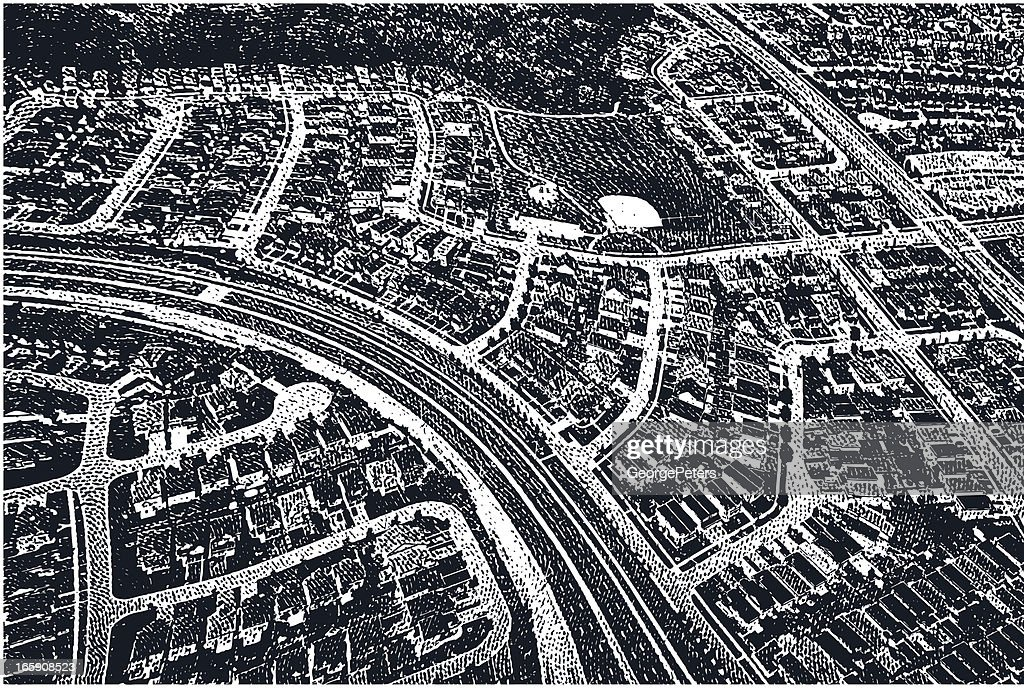 Suburbs – Airial View