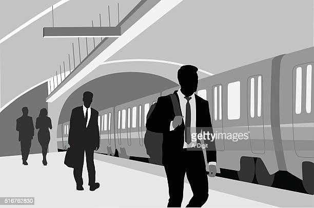 Subway Business Man