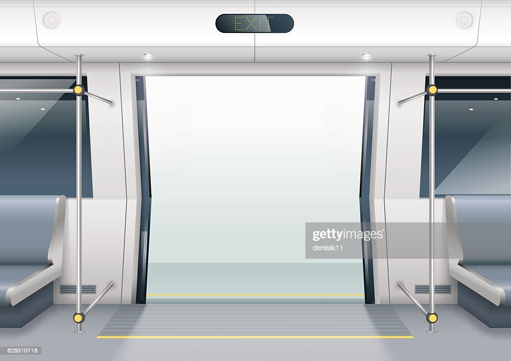 Subway car doors