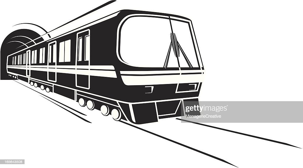 Subway rail : stock illustration