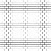 Subway Tile Seamless Pattern