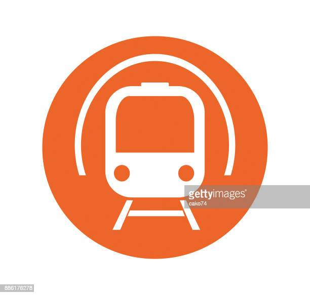 Subway tunnel icon