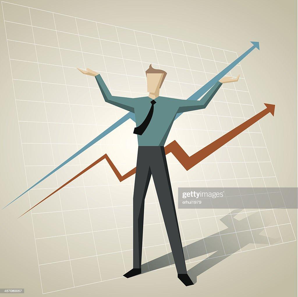 Success : stock illustration