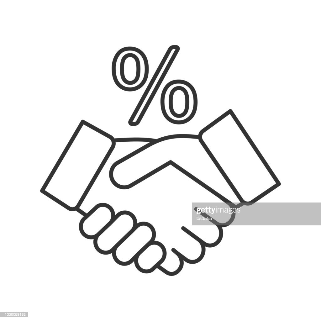 Successful deal icon