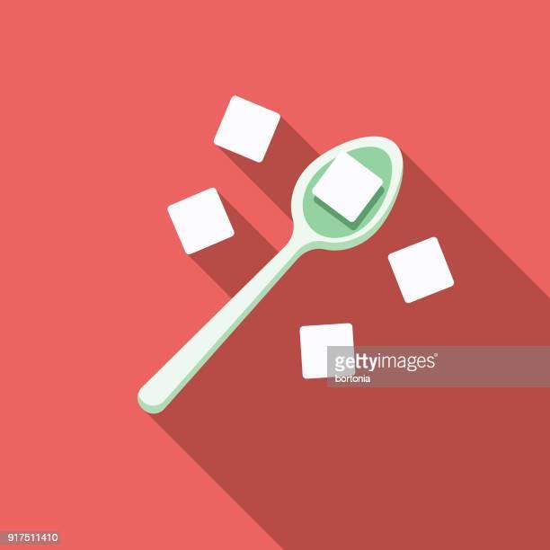 Sugar Flat Design Baking Icon