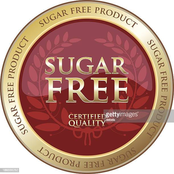 Sugar Free Gold Product Label