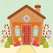 Sugary Sweet Gingerbread House