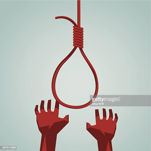 suicide - suicide stock illustrations