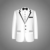 Suit icon isolated