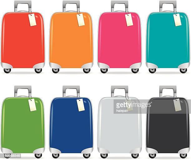 Suitcase colourful