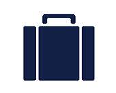 suitcase glyph icon