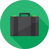 Suitcase Icon Flat