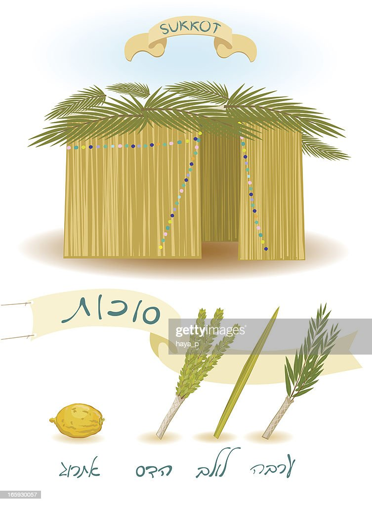 Sukkot Feast Of Tabernacles Vector Art Getty Images