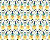 Summer african pattern vector seamless