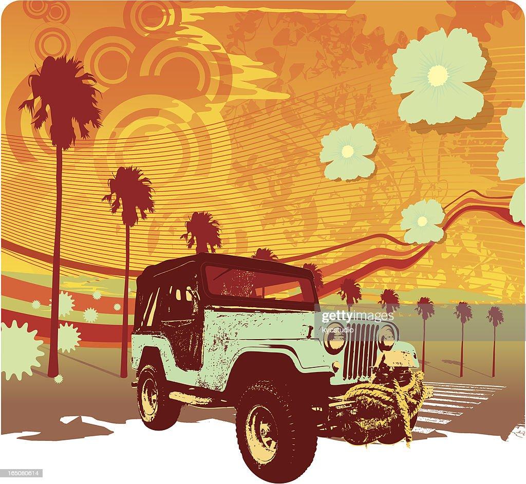 summer all terrain : stock illustration