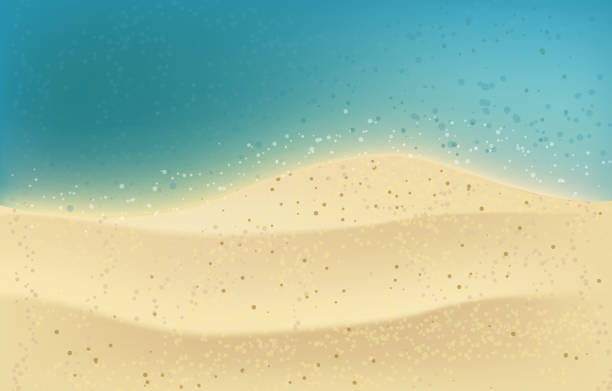 Summer Background Wall Sand