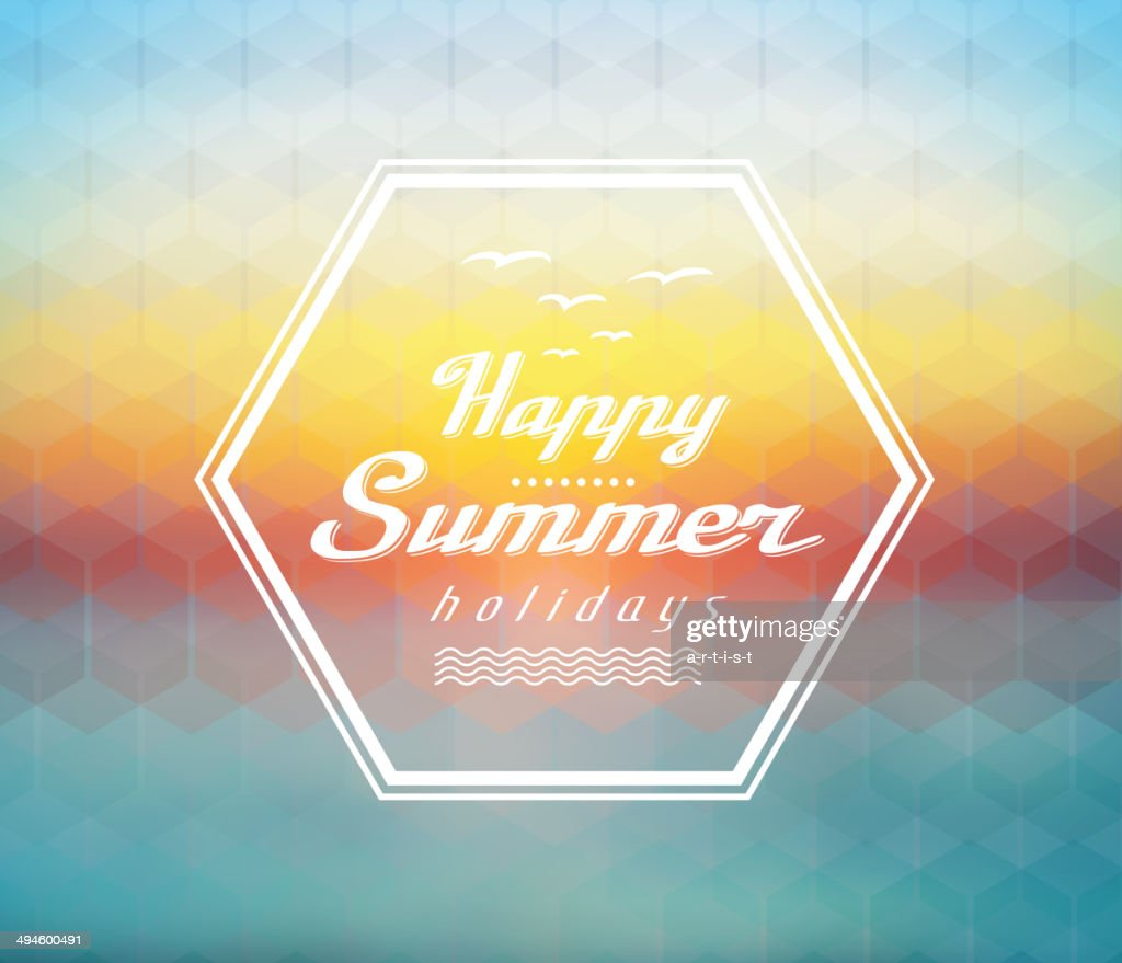 Sommer Hintergrund : Stock-Illustration