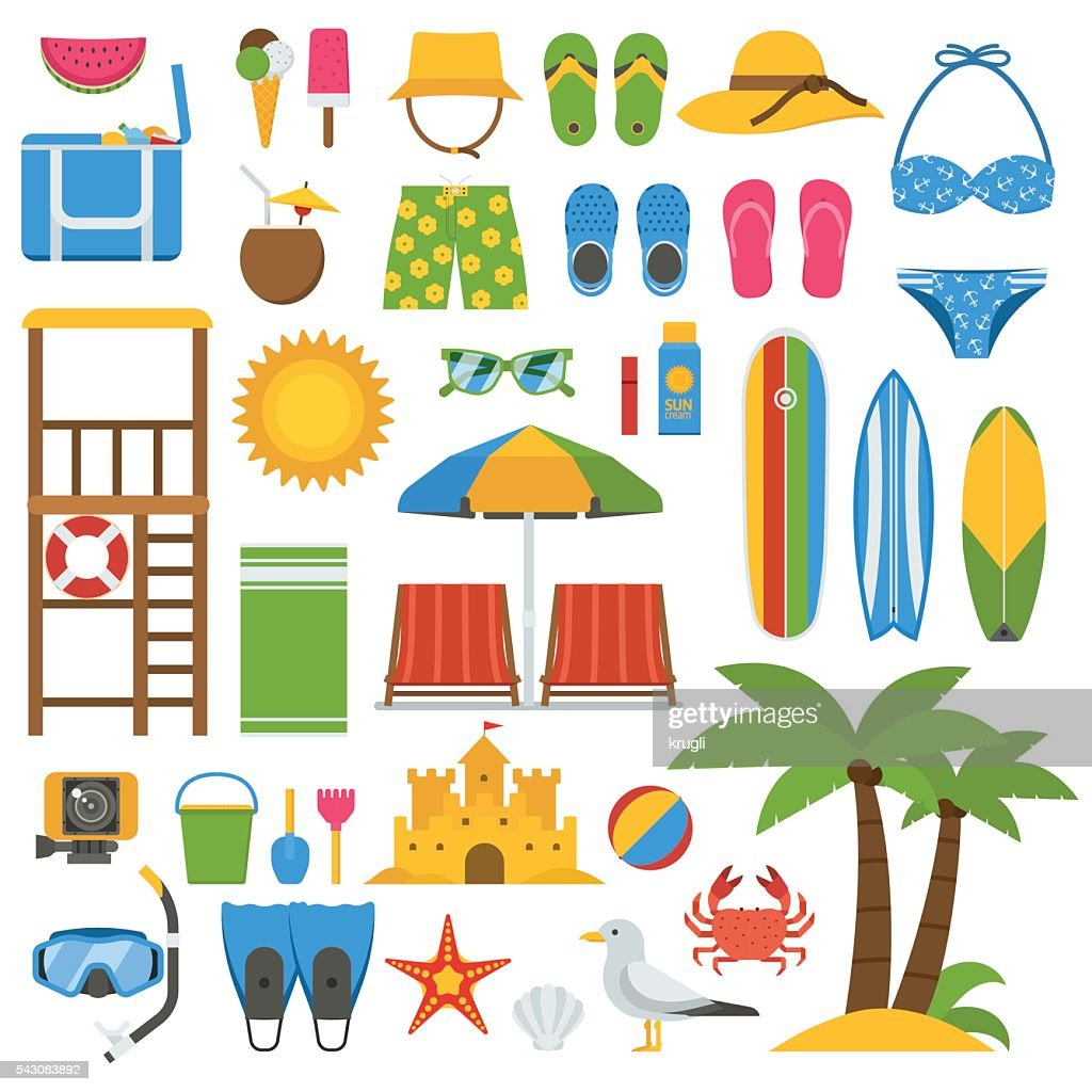 Summer Beach Item Set
