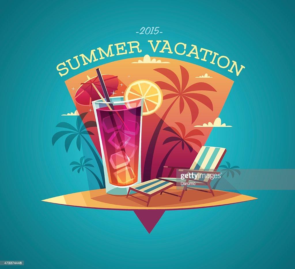 Summer card / poster / template